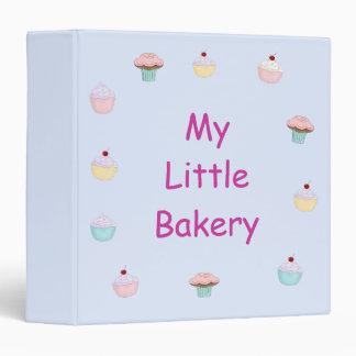 Yummy Cupcakes Binder / 1.5 Inch