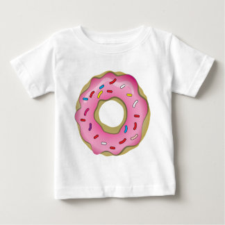 Yummy Donut with Icing and Sprinkles Baby T-Shirt