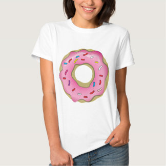 Yummy Donut with Icing and Sprinkles Tee Shirt