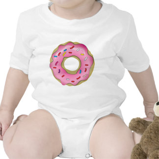 Yummy Donut with Icing and Sprinkles Tshirts