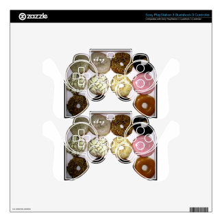 YUMMY DONUTS PS3 CONTROLLER SKIN