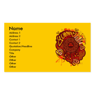 Yummy_Doughnut Business Card Template