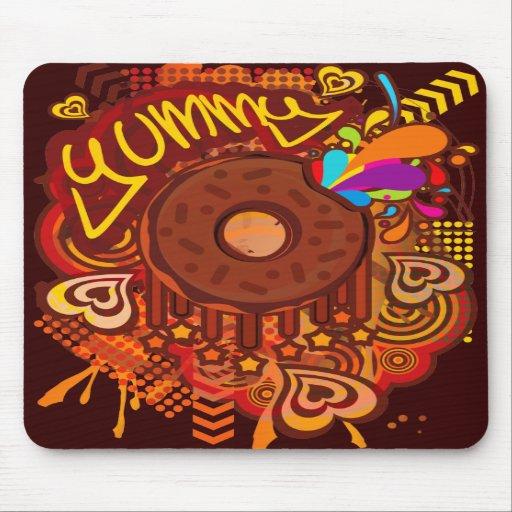 Yummy_Doughnut Mouse Pads