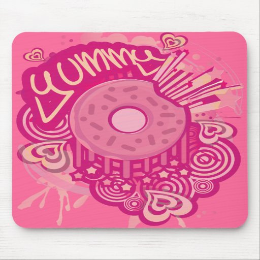 Yummy_Doughnut Mousepads