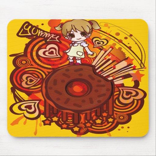 Yummy_Doughnut Mousepad