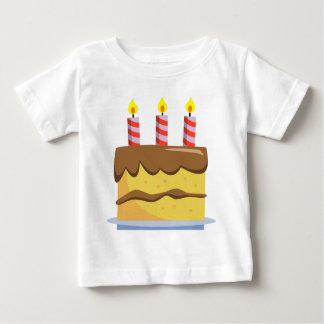 Yummy Food - Birthday Cake Baby T-Shirt