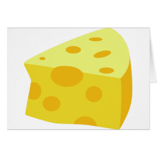 Yummy Food - Cheese Card