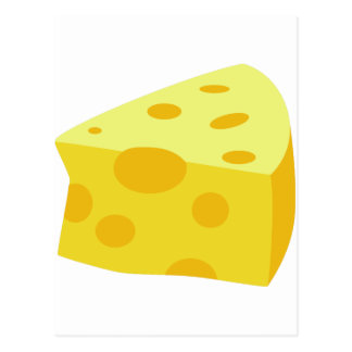 Yummy Food - Cheese Postcard