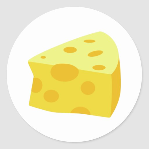 Yummy Food - Cheese Stickers