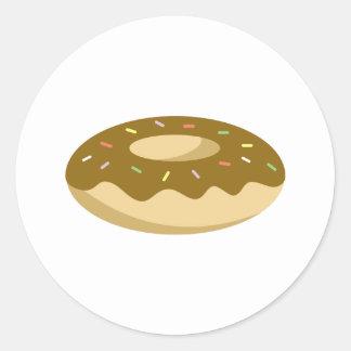 Yummy Food - Donut Classic Round Sticker