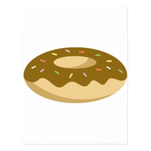 Yummy Food - Donut Postcard