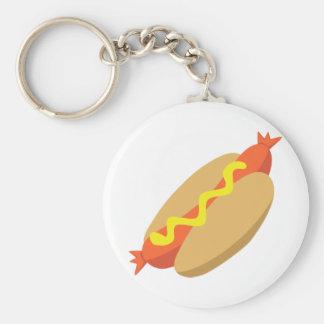 Yummy Food - Hotdog Keychain