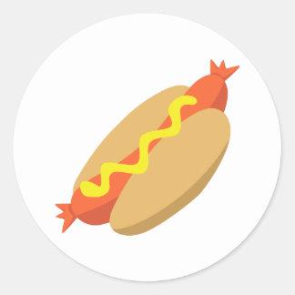 Yummy Food - Hotdog Stickers