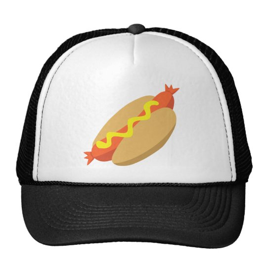 Yummy Food - Hotdog Trucker Hat