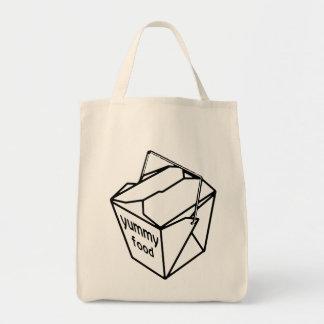 Yummy Food Take-out Box Tote Bag
