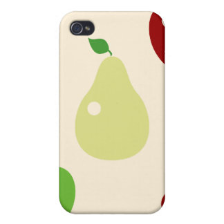 Yummy fruity fruits top chef foodie cute pattern iPhone 4/4S case