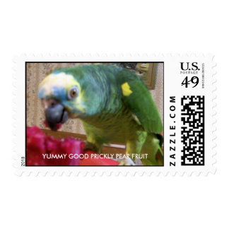 Yummy good prickly pear fruit stamp