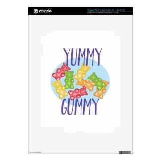 Yummy Gummy Decals For iPad 3