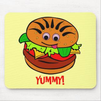 Yummy Hamburger Mouse Pad