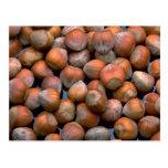 Yummy Hazelnuts Postcards