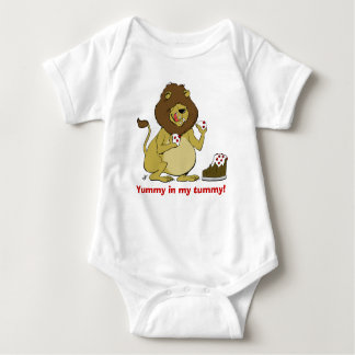 """""""Yummy In My Tummy!"""" - Hungry Lion T-shirts"""