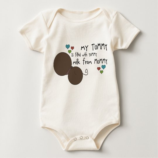 Yummy in the Tummy - Style C Baby Bodysuit