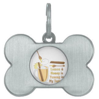 Yummy In Tummy Pet Name Tag