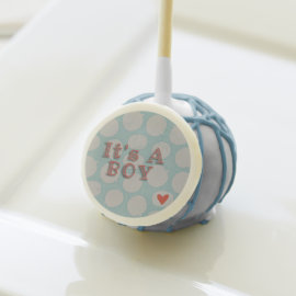 Yummy Its A Boy Customisable  Party Pops Cake Pops