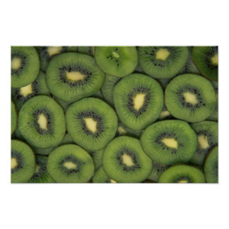 Yummy Kiwi fruit Poster
