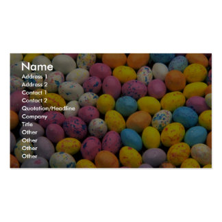 Yummy Malted easter eggs Business Card