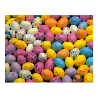 Yummy Malted easter eggs Postcard