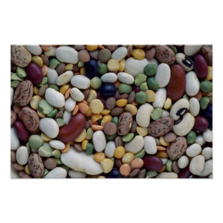 Yummy Mixed beans Poster