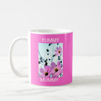 """YUMMY MUMMY "" FLORAL PRODUCTS COFFEE MUGS"