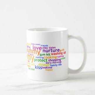 Yummy Mummy Wordle Mug