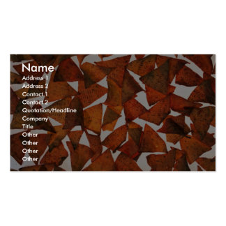 Yummy Nacho chips Double-Sided Standard Business Cards (Pack Of 100)