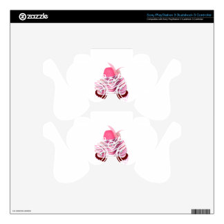 Yummy Pink Cupcake Skin For PS3 Controller
