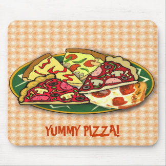 Yummy Pizza Mouse Pad