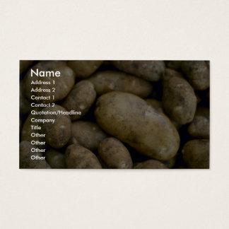 Yummy Potatoes Business Card