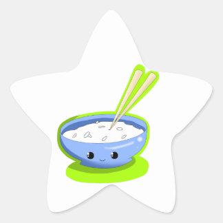 Yummy Rice Star Sticker