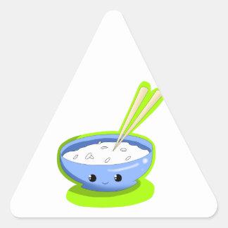 Yummy Rice Triangle Sticker