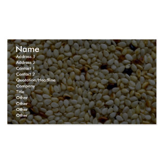 Yummy Sesame seeds Business Cards
