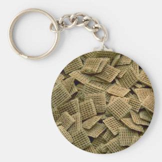 Yummy Shredded wheat Key Chain