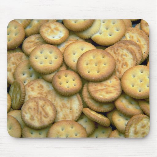 Yummy Snack crackers Mouse Pad