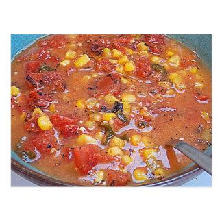 Yummy Soup Postcard