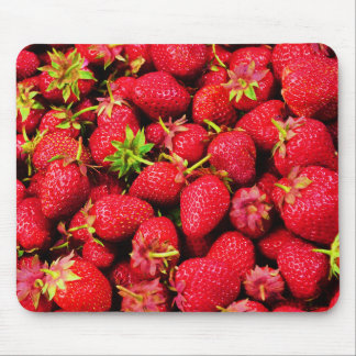 Yummy Strawberries Mouse Pad