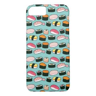 Yummy Sushi Fun Illustrated Pattern iPhone 8/7 Case