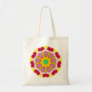 Yummy Sweet Candy Fractal Tote Bag