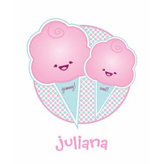 Yummy! Sweet! Cotton Candy Customizable T-Shirt shirt