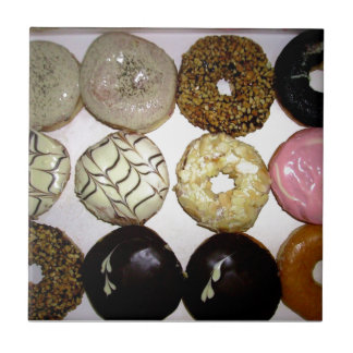 YUMMY SWEET DONUTS CERAMIC TILE