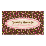Yummy Sweets Business Cards